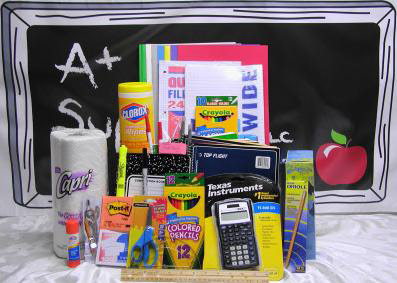 High resolution product image of school supplies by iNET's Milwaukee web designers!