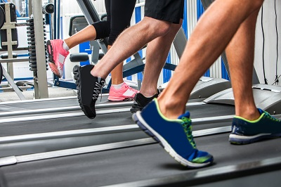 Runners on Treadmills in Milwaukee