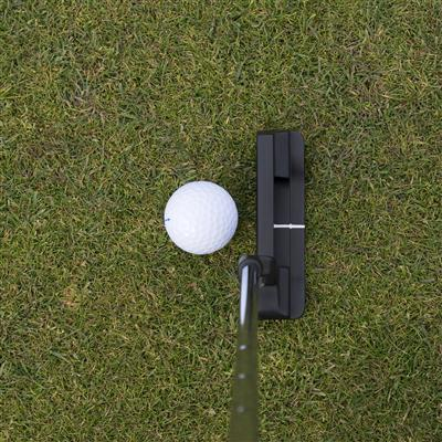 Putting a golf ball on a course marketed by iNET Web