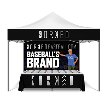 Kiosk design by iNET Web for Korked Baseball