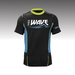 Milwaukee Wave soccer jersey designed by iNET Web