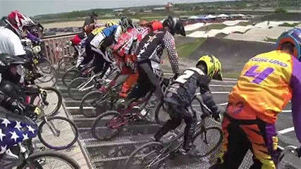 Video production for BMX Gold Cup Race at The Rock Bike Park