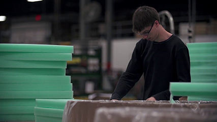 Milwaukee commercial video production for corrugated packaging manufacturer