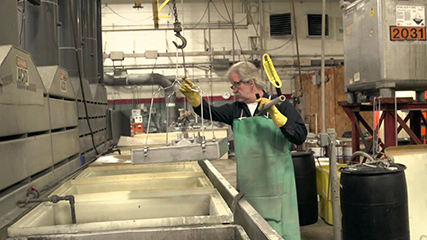 Wisconsin commercial video production for chrome plating company