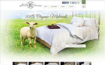 Custom built mattress website from iNET-Web