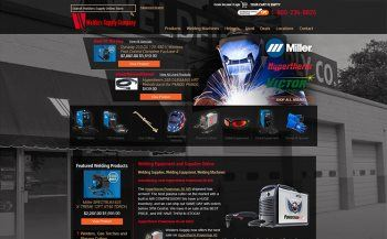 Custom Built Website for Welders Supply from iNET Web