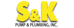 Logo designed by iNET Waukesha for S&K Pump and Plumbing