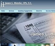 James L. Hinzke, CPA Web Marketing