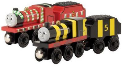 Waukesha graphic design for ecommerce images depicting Train Bargains' fine quality toy train products!