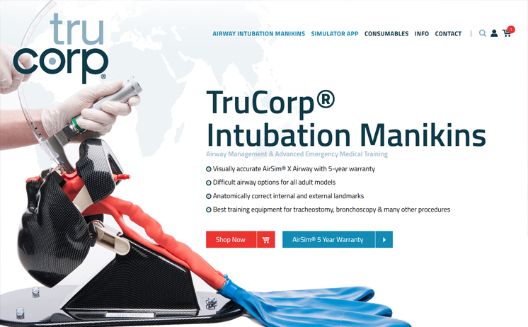 Worldwide supplier of Professional Grade Intubation Manikins