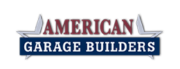 Logo design by iNET Web for American Garage Builders
