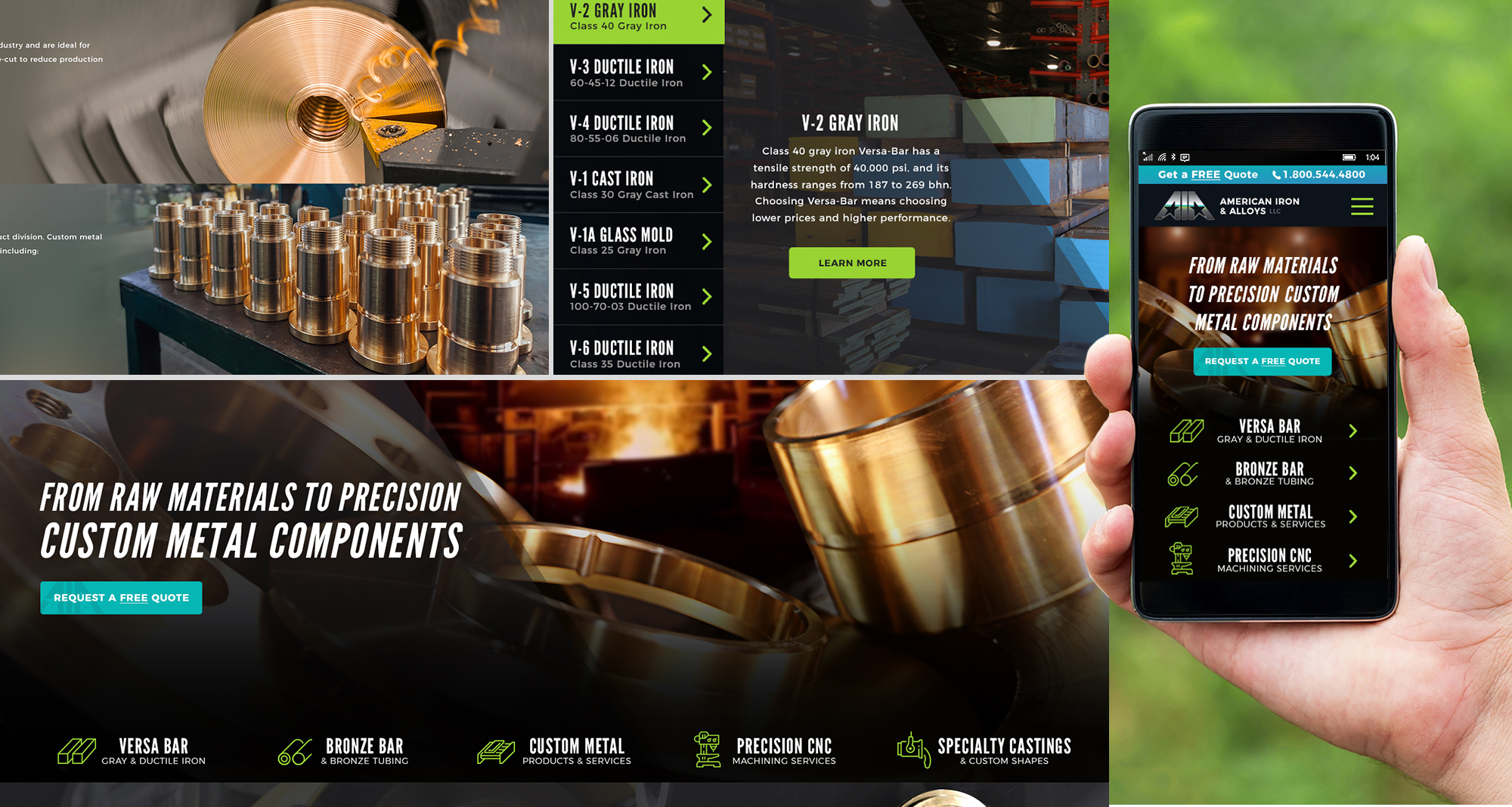 Milwaukee web marketing for American Iron & Alloys