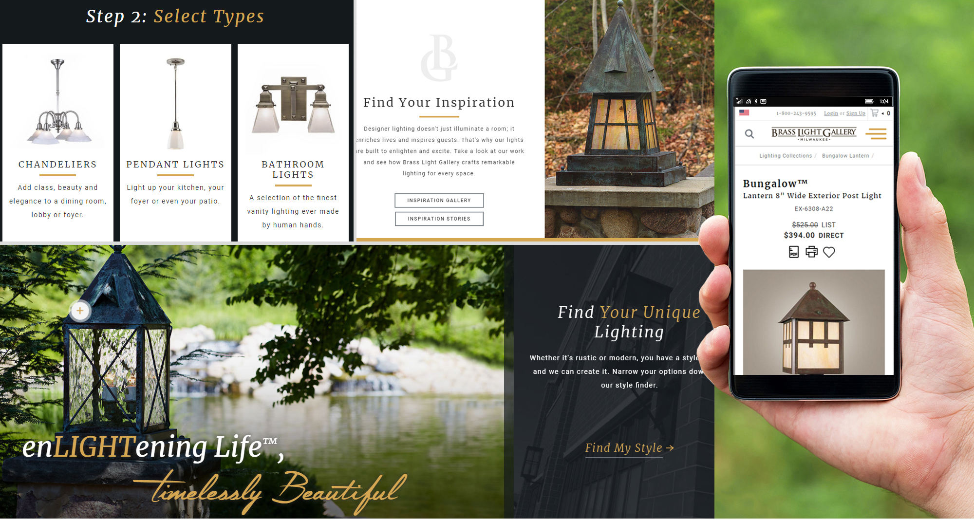 Milwaukee web marketing for Brass Light Gallery