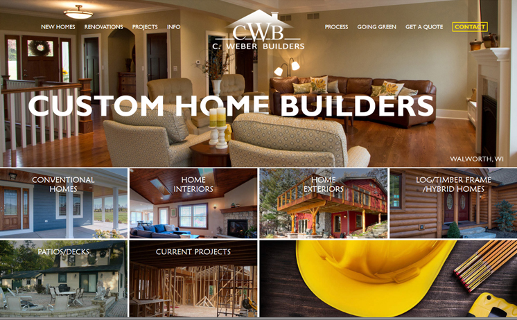 Waukesha home builders construct a new way of reaching out potential customers with website development from iNET