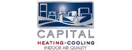 Capital HVAC logo by iNET Web Design
