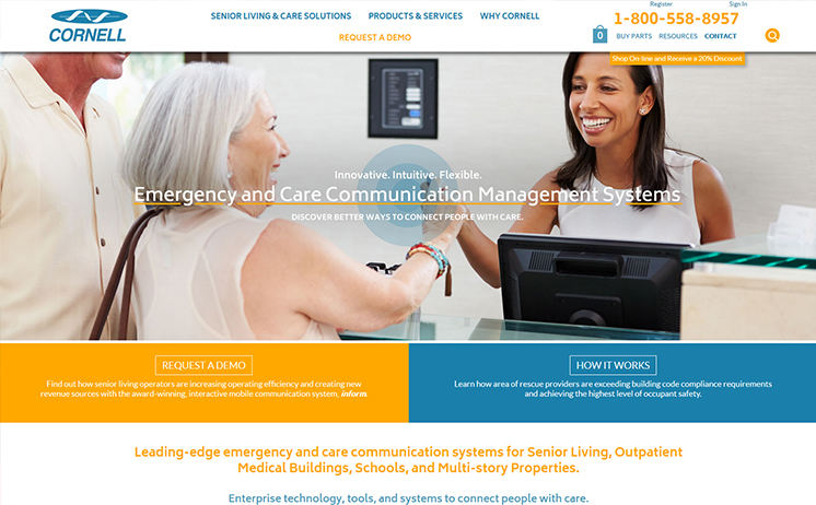 Waukesha area marketing company offers success to emergency and care communication systems supplier