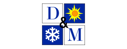 D& M Heating logo by iNET Web Designers