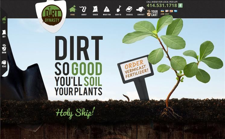 Milwaukee plant soil and worm business sprouts customer growth with iNET's unmatched web design capabilities
