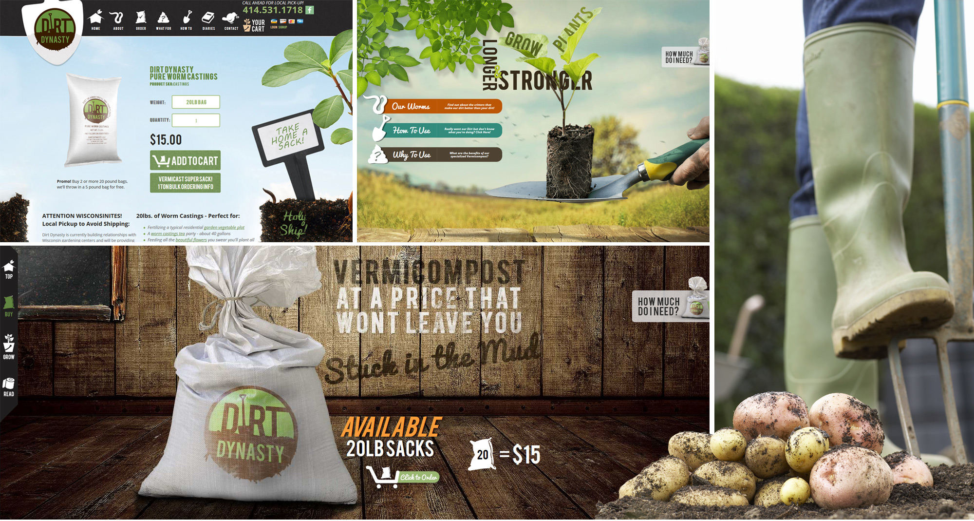 Dirt Dynasty Website Designed by iNET