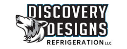 Logo design by iNET Waukesha for Discovery Designs Refrigeration