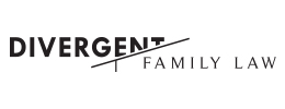 Logo by iNET Web for Divergent Family Law