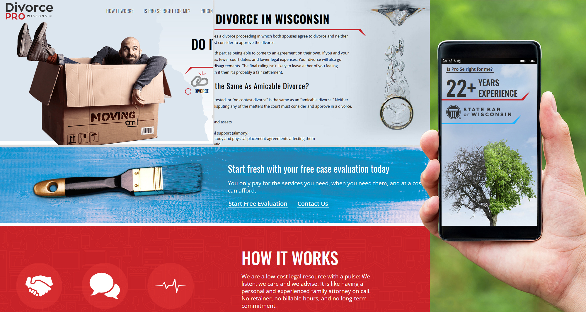 Milwaukee web marketing for Divorce Pro Wisconsin