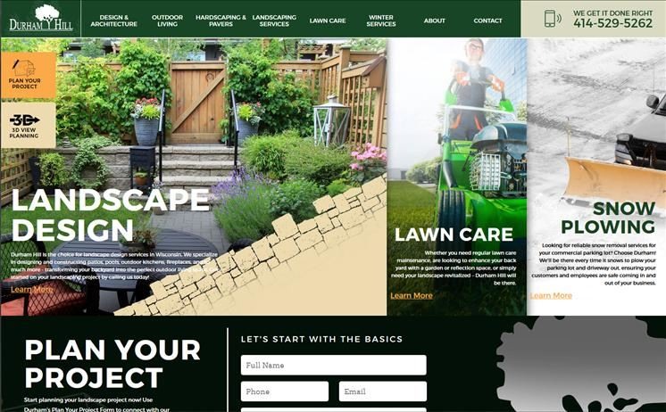Milwaukee landscaping, snow removal, and lawn care experts rely only on iNET to bring in the business year-round