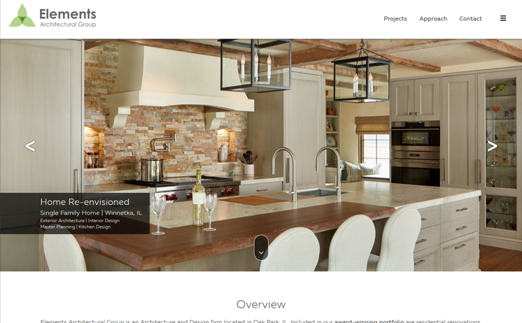 Illinois architectural design firm prospers with iNET's web design and marketing techniques