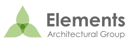 Logo design by iNET Web for Elements Architectural Group