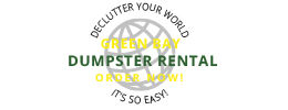 Logo by iNET Web for Green Bay Dumpster Rental