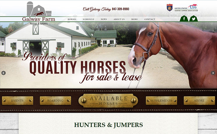 Milwaukee's farm for quality horses reigns in the profits with iNET taking the lead in internet marketing and web development