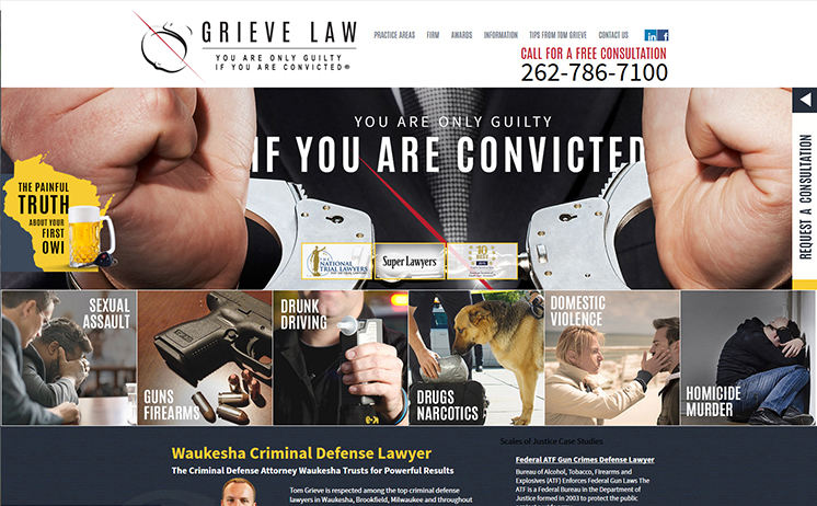 Milwaukee lawyers for criminal defense and justice in keeping Wisconsin innocent