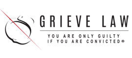 Logo by iNET Web Design for Grieve Law firm