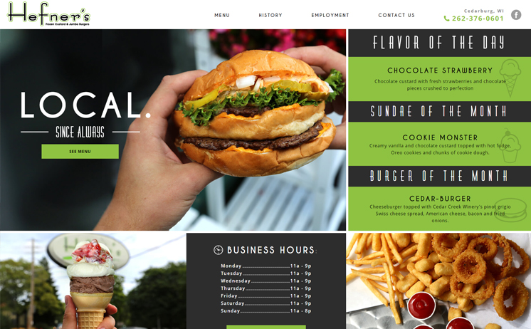 Milwaukee businesses specializing in the food services and hospitality industries benefit from iNET's web design and online marketing