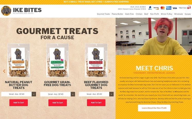 Milwaukee non-profit dog bakery succeeds with the help of iNET's innovative web developers
