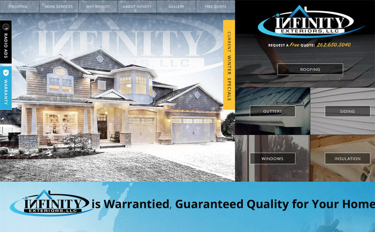 Exterior improvements such as roofing, siding, and windows from Milwaukee home improvement experts