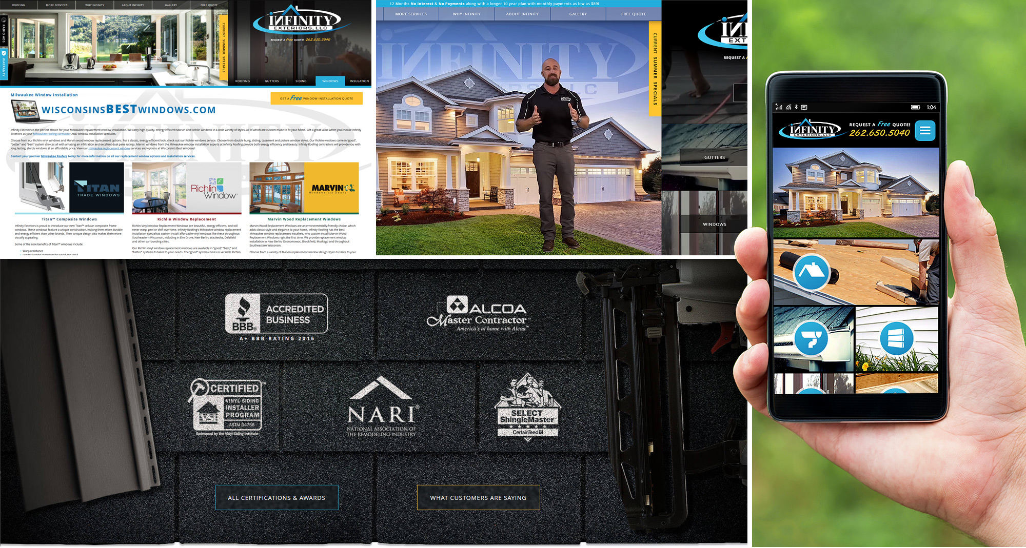 Milwaukee Web Marketing for Roofing Contractors