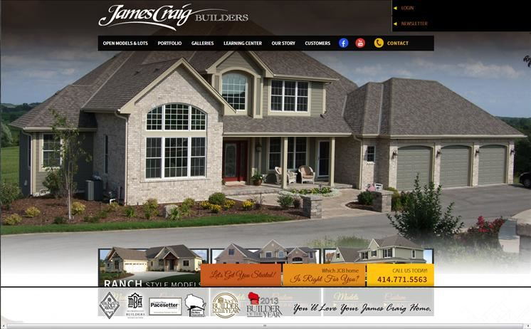 Milwaukee home builders construct a new way of reaching out to potential customers through iNET, their hard-hat wearing website contractors