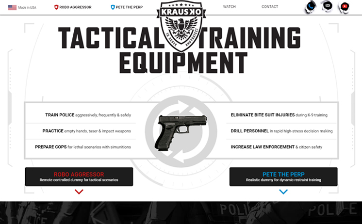 Wisconsin Tactical Gear and Equipment Supplier succeeds with iNET's internet marketing and web design