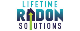 Lifetime Radon Solutions logo design by iNET Web