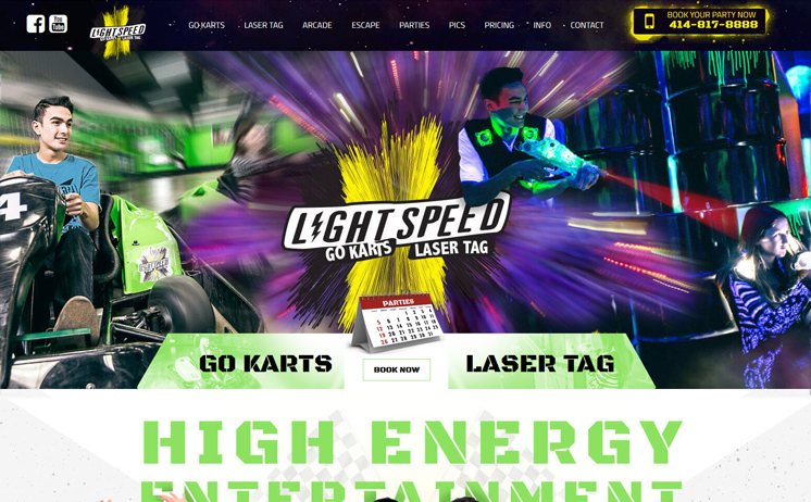 Waukesha area indoor go kart, laser tag & arcade center races to the top of search engine results