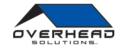 Logo developed by iNET Web for Overhead Solutions