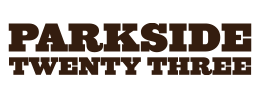 Logo developed by iNET Web for Parkside Twenty Three