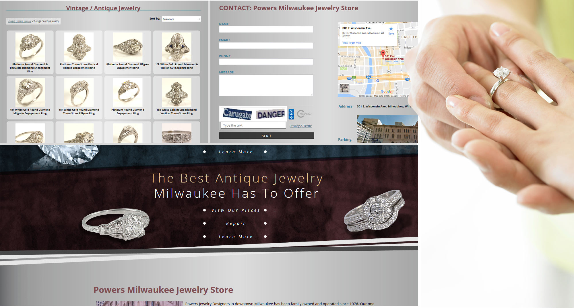 Waukesha Web Developers for Jewelers