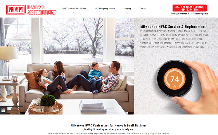 Milwaukee businesses specializing in the trade field benefit from iNET's web design and online marketing