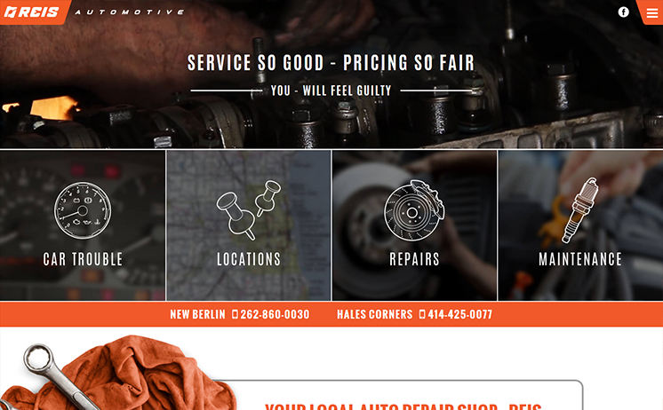 Automotive repair and restoration services count on Waukesha's iNET, specializing in web and radio marketing
