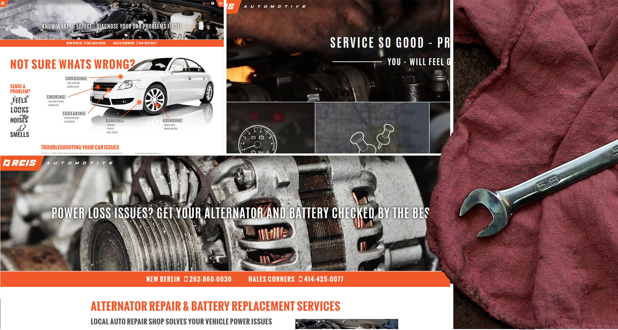 Automotive Repair Website Designers