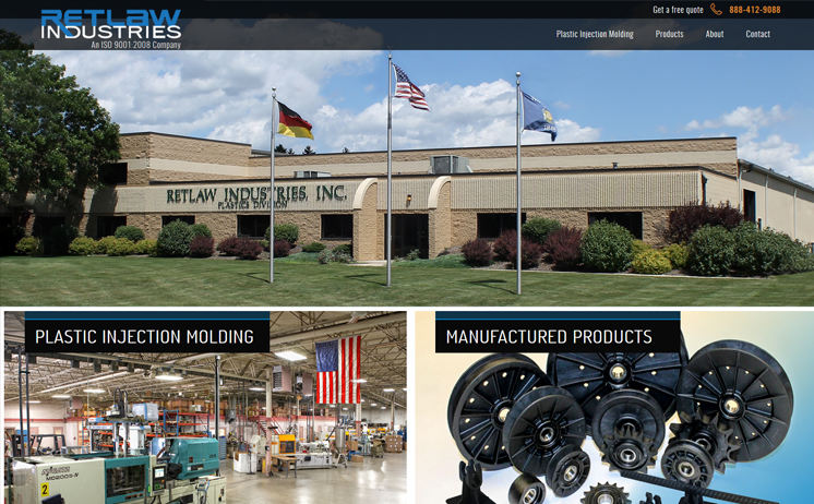Wisconsin Plastic Molding Injection Manufacturer relies on iNET innovative website marketing in reaching out to customers