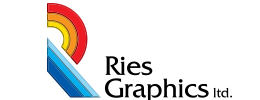Logo design by iNET Waukesha for Ries Graphics