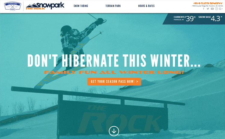 Waukesha area snow park flies to the top of search engine results